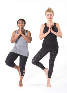 Balance the pressure of the foot into the inner leg and the leg into the foot
